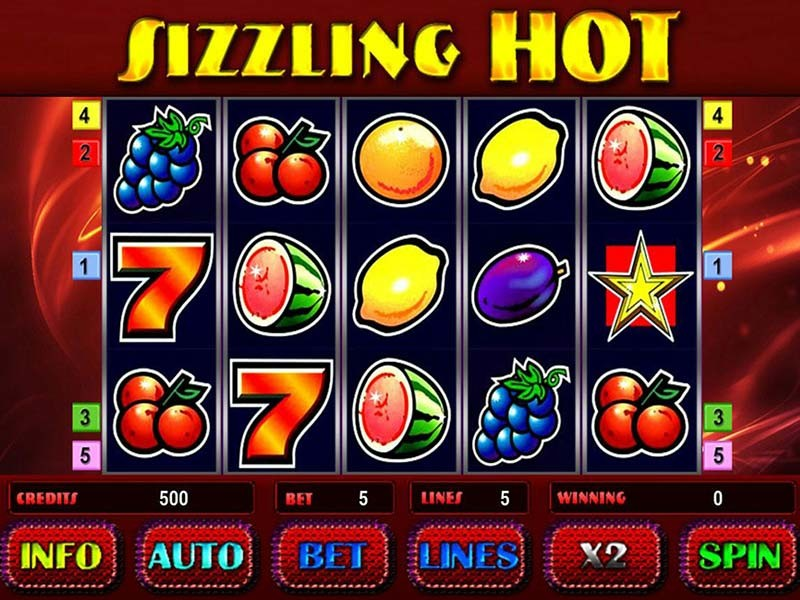 Sizzling Hot Casino Game 100 Free Spins And 100 Bonus